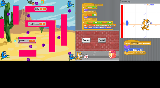 Image of Scratch and games