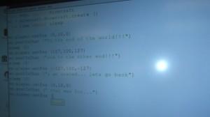 Minecraft code
