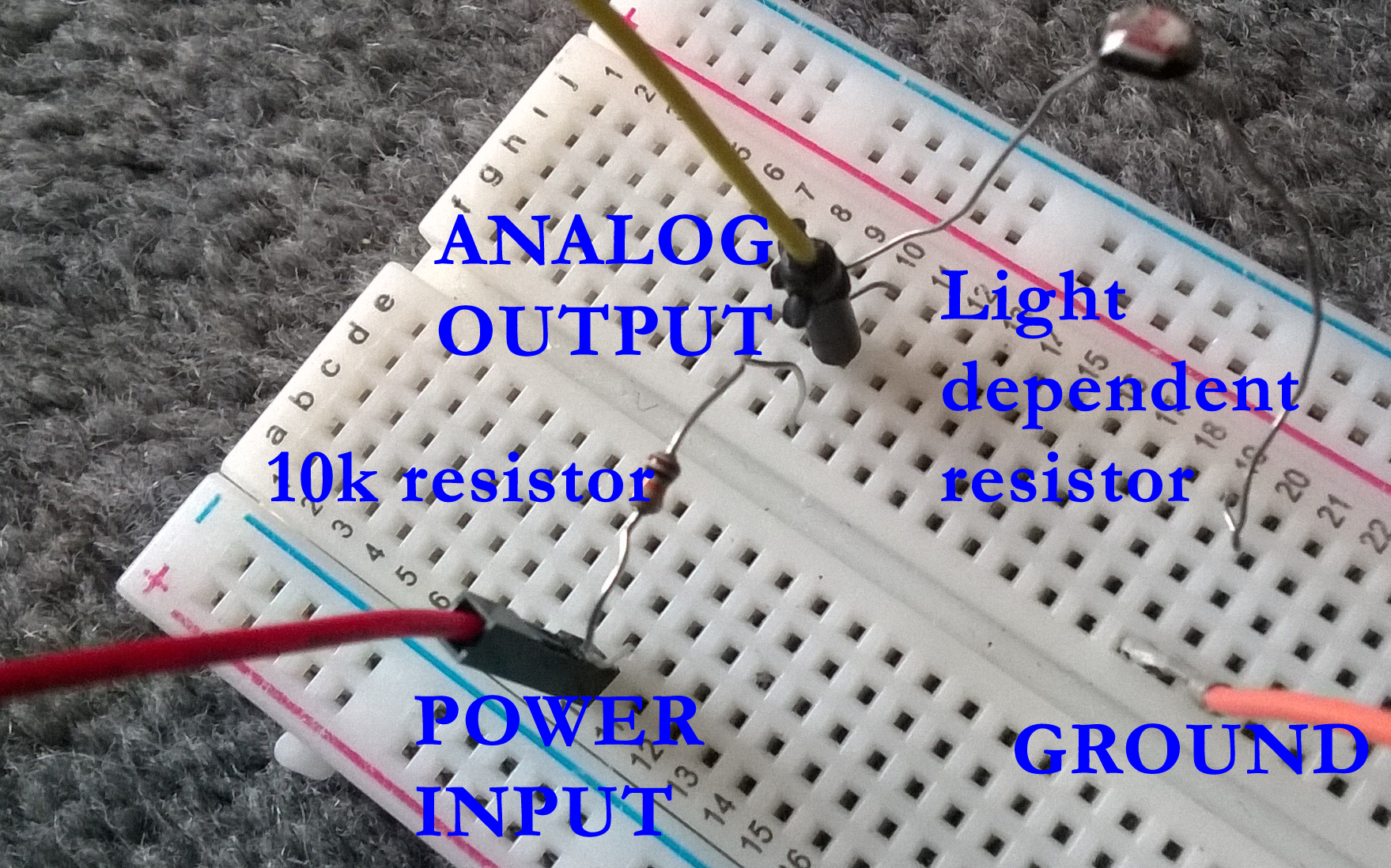 October 2015 Scratchmypi Thermistor Arduino 10k Circuit The Analog Output Can Go To Any Of Inputs