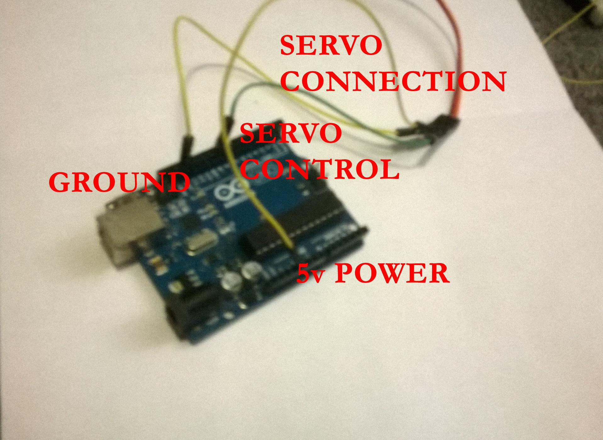 Using Arduino, a servo and a potentiometer | ScratchMyPi
